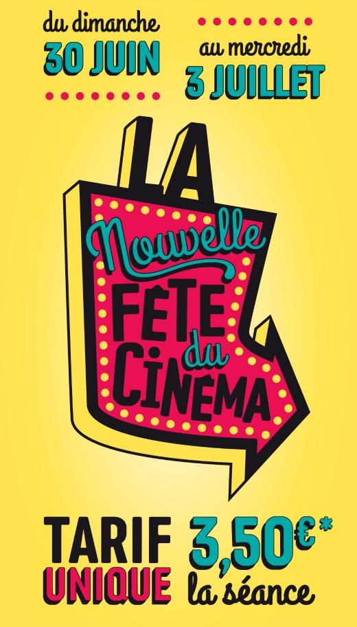 La Fête du Cinéma du 30 juin au 3 juillet 2013
