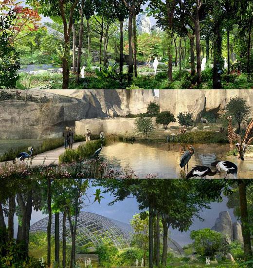 Réouverture du Parc Zoologique de Paris le 12 avril 2014