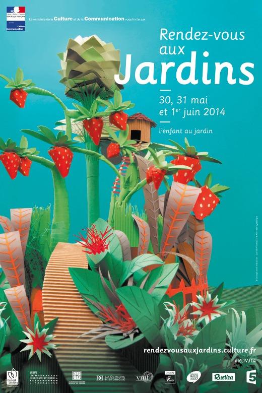 Rendez-vous aux jardins du 30 mai au 1er juin 2014