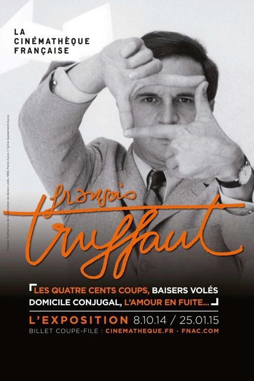Exposition François Truffaut à la Cinémathèque du 8 octobre 2014 au 25 janvier 2015