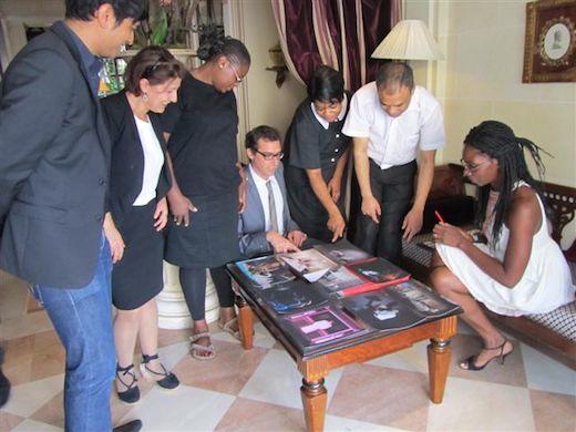 PHPA 2014 - les équipes de nos hôtels votent pour le prix Virginie Clément