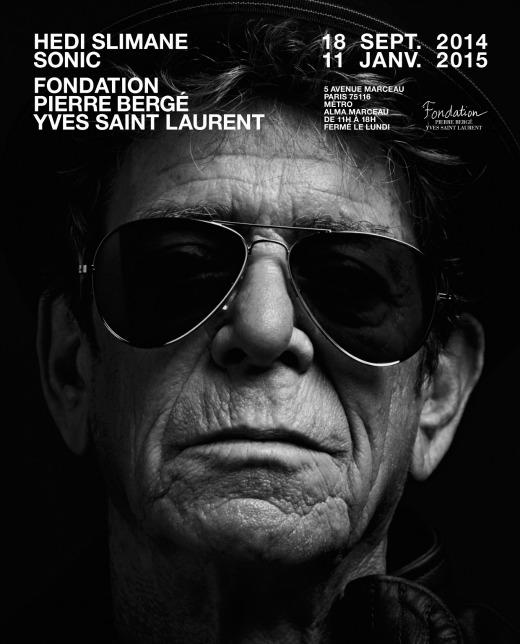 Exposition Hedi Slimane Sonic à la Fondation Pierre Bergé - Yves Saint Laurent jusqu'au 11 janvier 2015