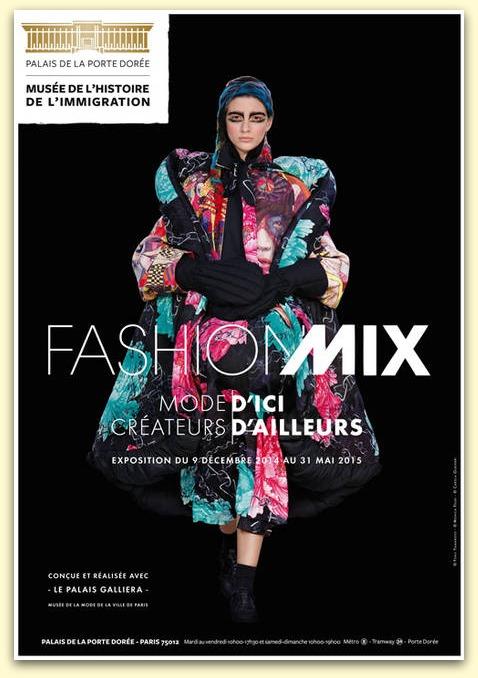 Exposition Fashion Mix au Musée de l'histoire de l'immigration du 9 décembre 2014 au 31 mai 2015