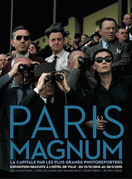"""Exposition """"Paris Magnum"""" : 80 ans d'histoires parisiennes à Hôtel de Ville jusqu'au 28 mars 2015"""