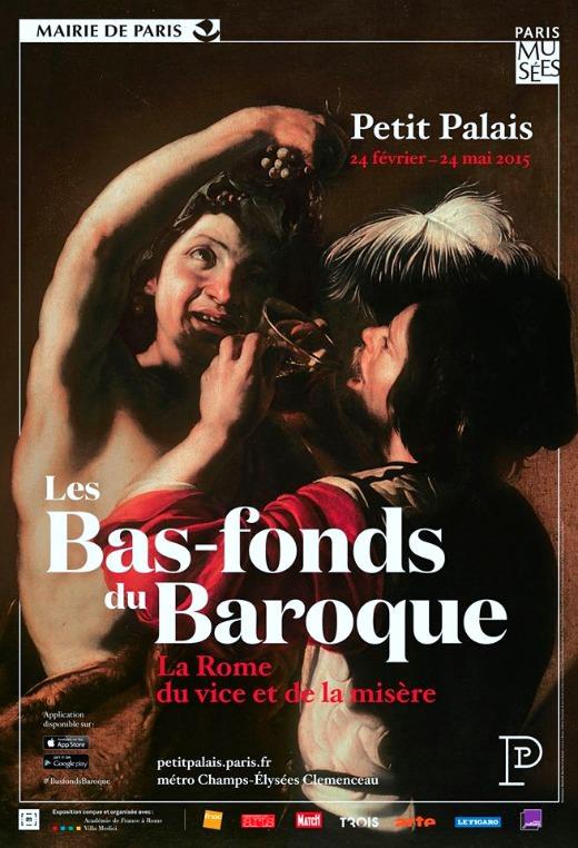 Les Bas-fonds du Baroque - la Rome du vice et de la misère au Petit Palais du 24 février au 24 mai 2015