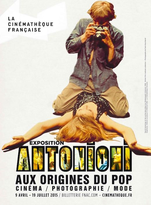 Exposition Antonioni à la Cinémathèque jusqu'au 19 juillet 2015