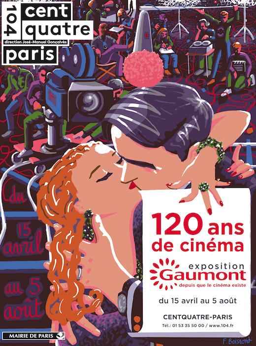 Exposition Gaumont : 120 ans de cinéma au 104 jusqu'au 5 août 2015