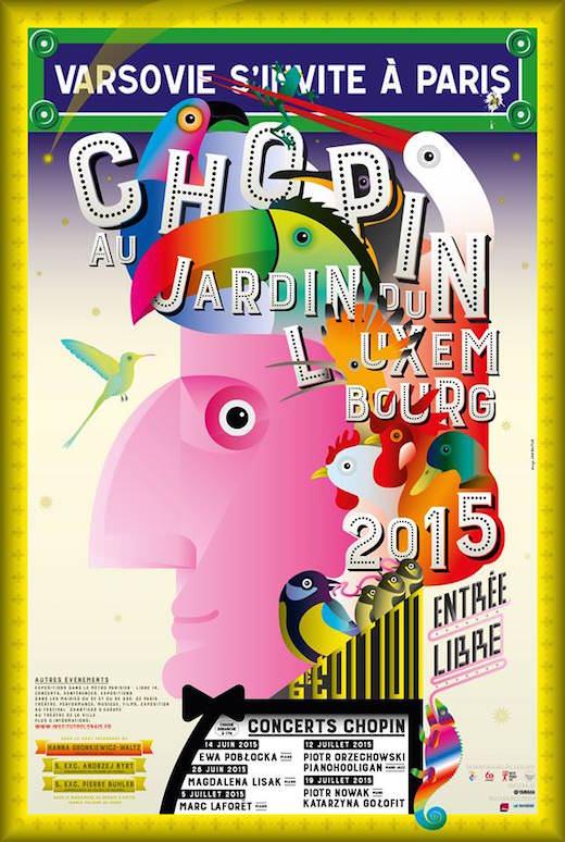 Chopin au Jardin du Luxembourg jusqu'au 19 juillet 2015