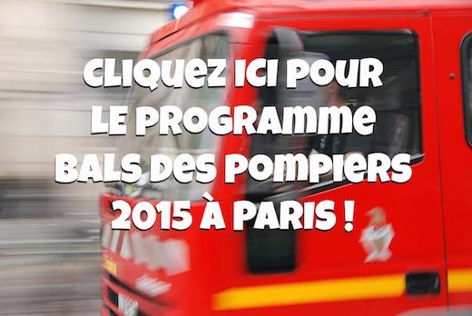 Les bals des pompiers du 13 et 14 juillet 2015 à Paris