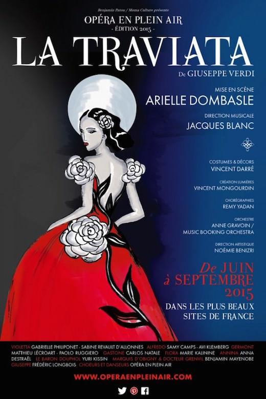 La Traviata en plein air aux Invalides du 8 au 12 septembre 2015
