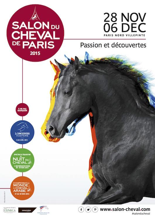 Le Salon du Cheval au Parc des Expositions du 28 novembre au 6 décembre 2015