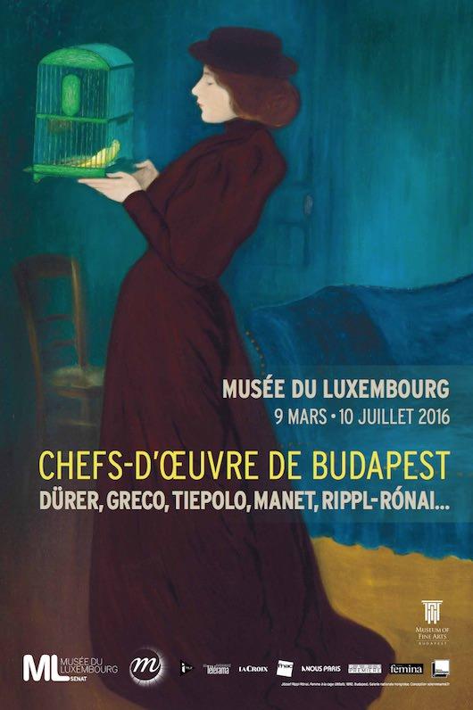 Chefs-d'œuvre de Budapest au Musée du Luxembourg du 9 mars au 10 juillet 2016