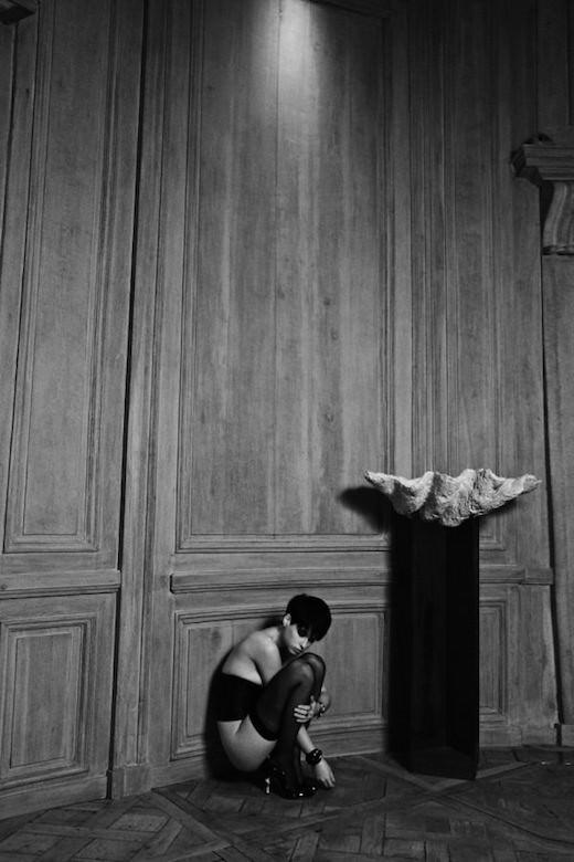 Exposition Un après-midi à Saint-Germain-des-Prés de Mireille Darc chez Artcurial du 21 au 30 janvier 2016