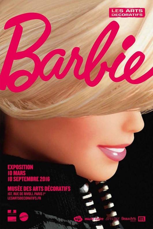 Exposition Barbie au Musée des Arts Décoratifs du 10 mars au 18 septembre 2016