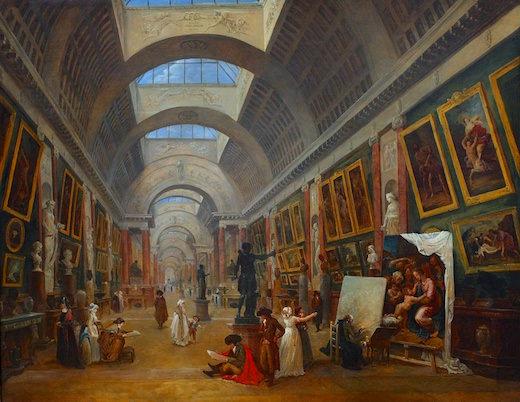 Exposition Hubert Robert au Louvre du 9 mars au 30 mai 2016