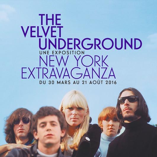 Exposition The Velvet Underground à la Philharmonie de Paris du 30 mars au 21 août 2016