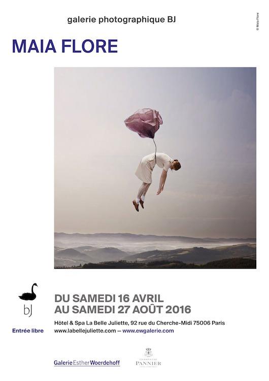 Exposition Maia Flore à la Belle Juliette jusqu'au 27 août 2016