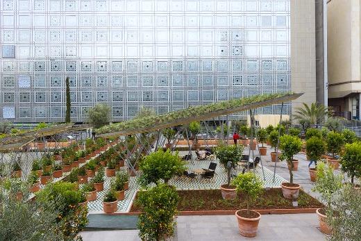 Exposition jardins d orient l institut du monde arabe for Exposition jardin paris 2016