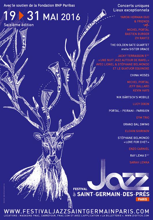 Festival Jazz à Saint-Germain 2016 du 19 au 31 mai