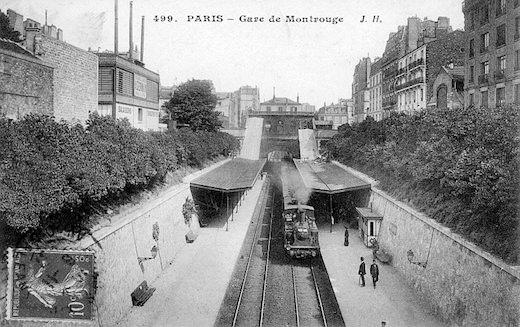 Gare Montrouge - Paris
