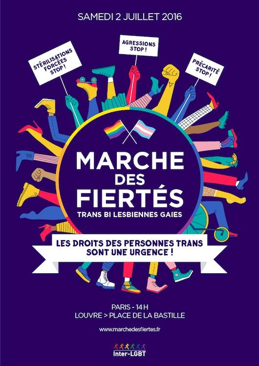 Gay Pride 2019 à Paris: les personnes intersexes
