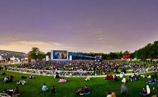 Le Festival de film en plein air 2016 à la Villette <br> du 30 juillet au 21 août