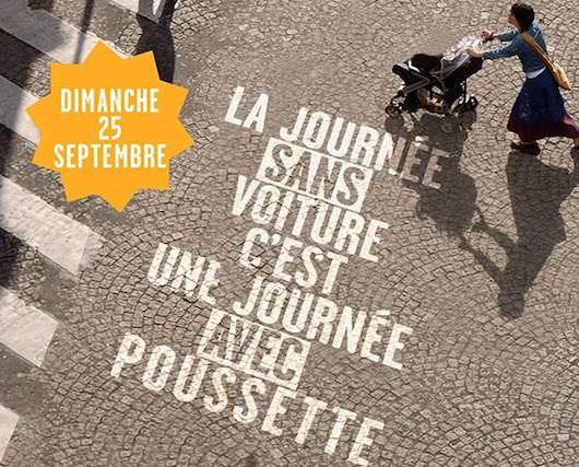 La Journée sans voiture le 25 septembre 2016
