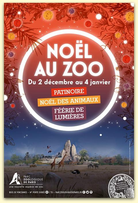 Noël au Zoo de Paris jusqu'au 4 janvier 2017