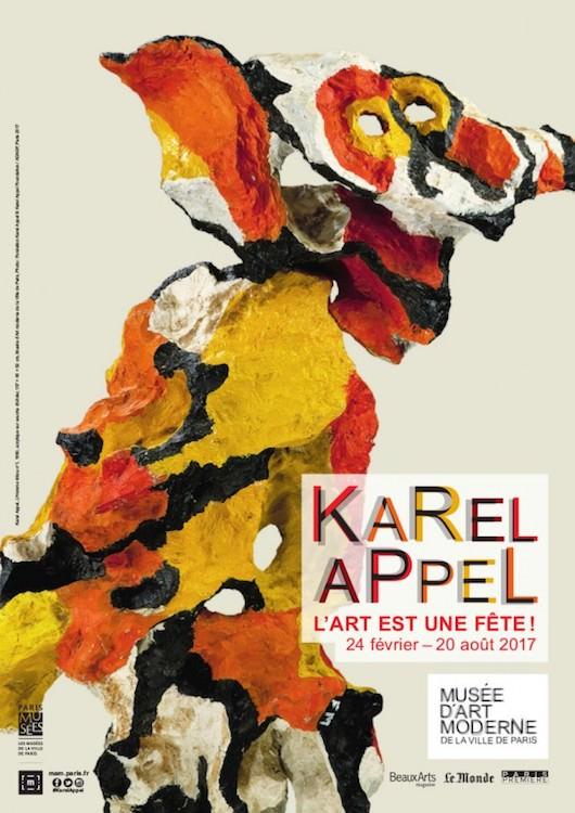 Exposition Karel Appel au MAM du 24 février au 20 août 2017