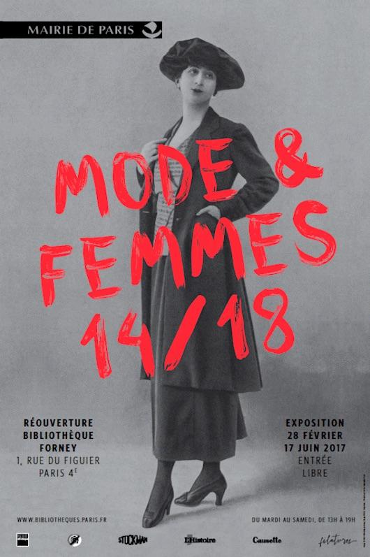 Exposition Mode et femmes, 14/18 du 28 février au au 17 juin 2017
