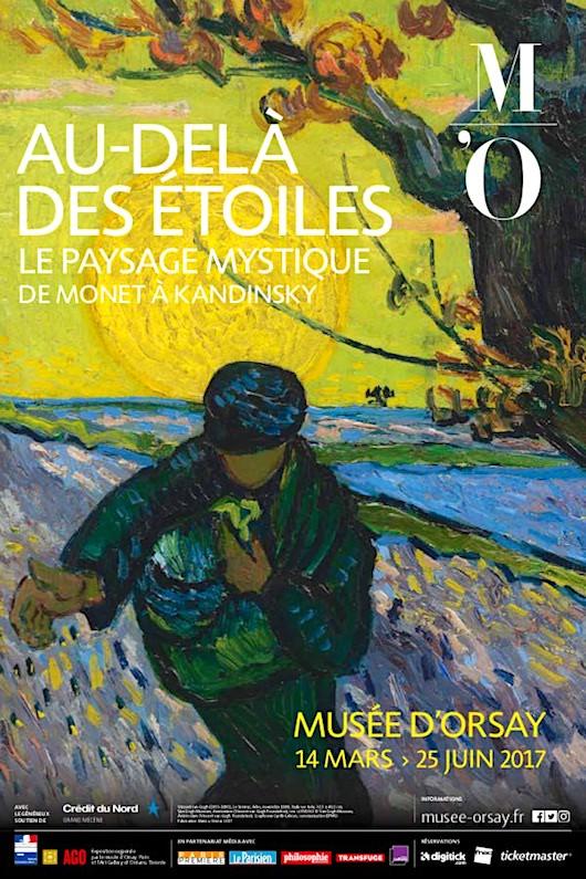Exposition Au-delà des étoiles au Musée d'Orsay du 14 mars au 25 juin 2017