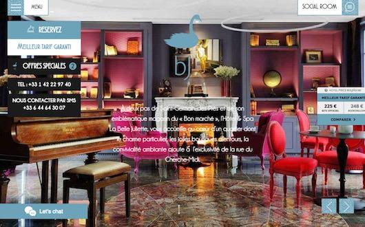 Découvrez le nouveau site de l'Hôtel & Spa La Belle Juliette **** et réservez sur notre site web pour le meilleur tarif garanti !