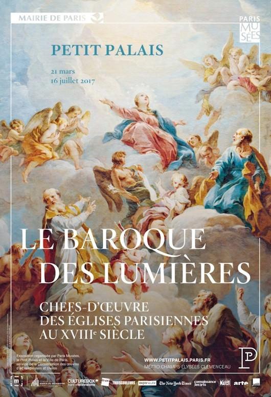 Exposition Le Baroque des Lumières - Chefs-d'œuvre des églises parisiennes au XVIIIe siècle au Petit Palais, Paris