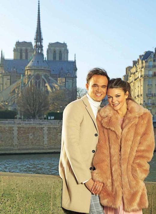 Faye Brookes & Gareth Gates - Hotel Baume, Paris