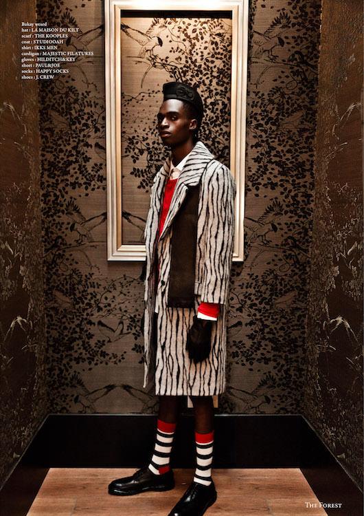 Shooting 'Society of Ambiance' de Forest Magazine à l'Hôtel Baume, Paris