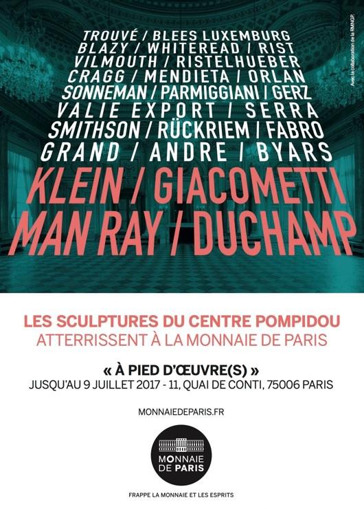 Exposition À pied d'œuvre(s) à la Monnaie de Paris jusqu'au 9 juillet 2017