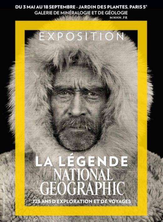 Exposition La légende National Geographic au Jardin des Plantes du 3 mai au 18 septembre 2017
