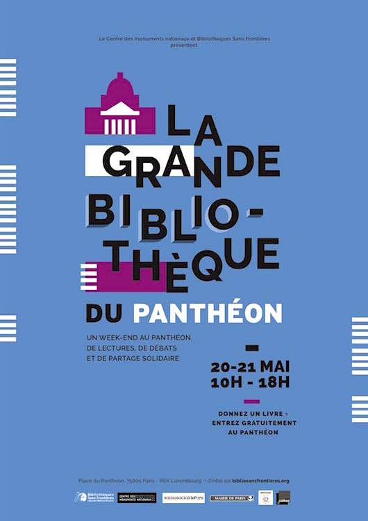 La Grande Bibliothèque du Panthéon le 20 & 21 mai 2017
