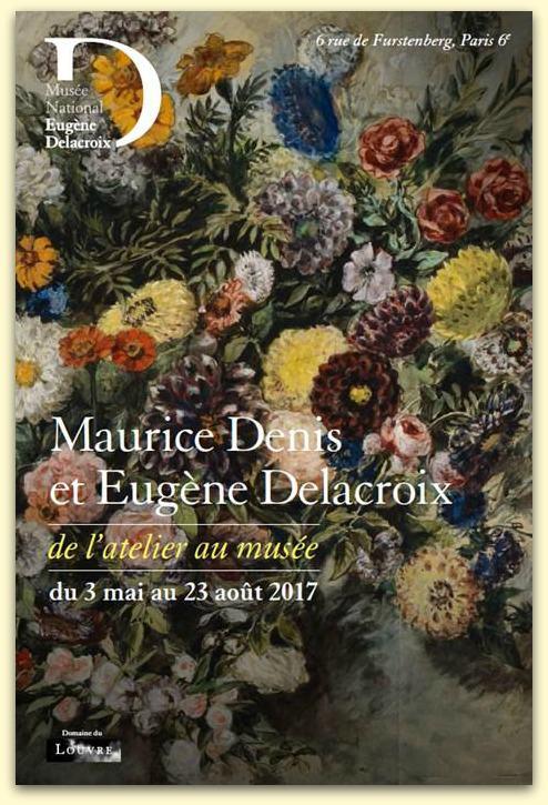 Exposition Maurice Denis et Eugène Delacroix au Musée Delacroix jusqu'au 28 août 2017
