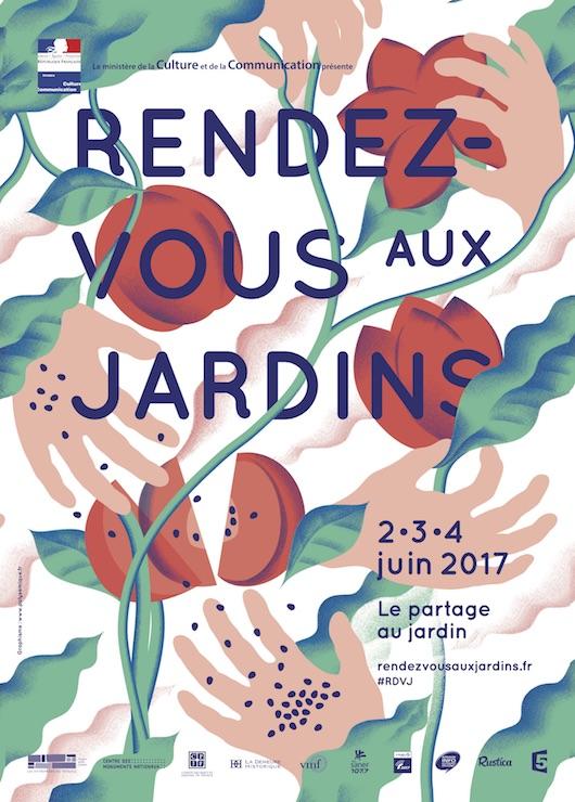 Rendez-vous aux jardins le 2, 3 & 4 juin 2017