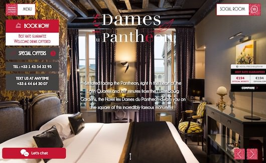 Hôtel les Dames du Panthéon **** book on our website for the best rate guaranteed!