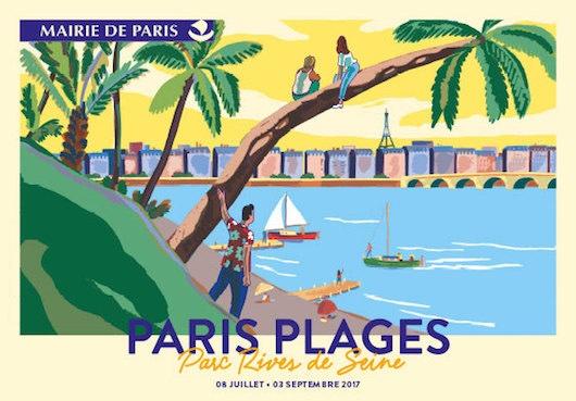 Paris Plages 2017 du 8 juillet au 3 septembre 2017