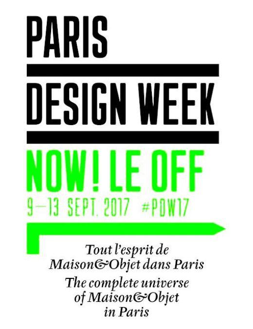 Paris Design Week du 8 au 16 septembre 2017