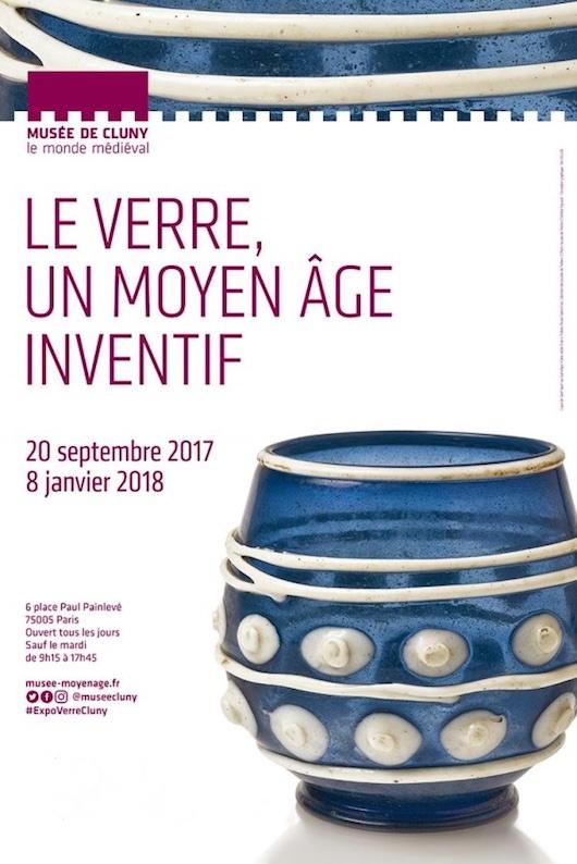 Exposition Le Verre, un Moyen Âge inventif au Musée de Cluny du 20 septembre 2017 au 8 janvier 2018