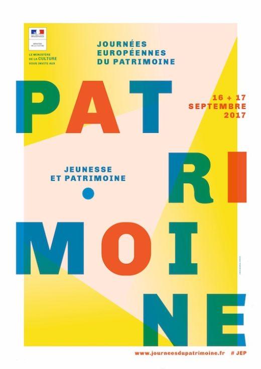 Les Journées du Patrimoine le 16 & 17 septembre 2017