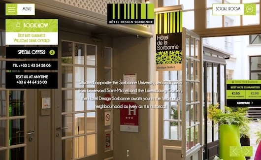 Hôtel Design Sorbonne *** book on our website for the best rate guaranteed!