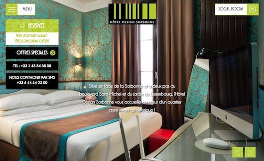Hôtel Design Sorbonne *** réservez sur notre site web pour le meilleur tarif garanti !