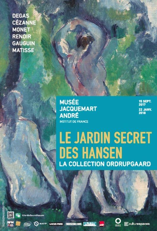 Exposition Le jardin secret des Hansen au Musée Jacquemart-André du 15 septembre 2017 au 22 janvier 2018