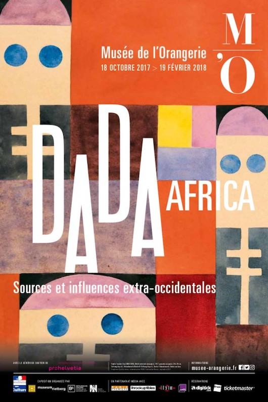 Exposition Dada Africa au Musée de l'Orangerie jusqu'au 19 février 2018