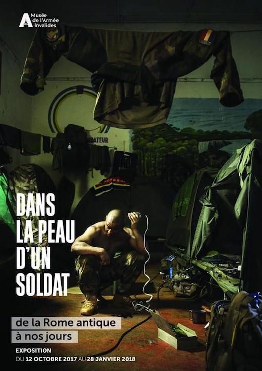 Exposition Dans la peau d'un soldat au Musée de l'Armée du 12 octobre 2017 au 28 janvier 2018